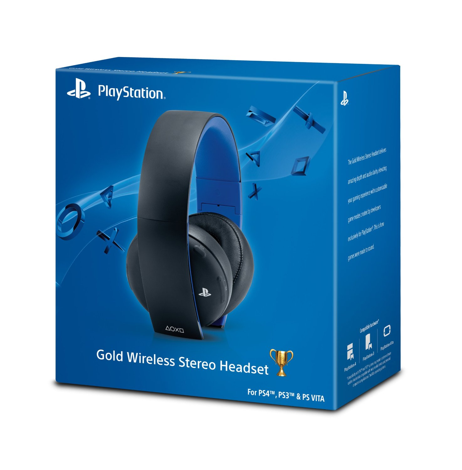 PS4 Gold Wireless Headset | Game Xpress Barbados